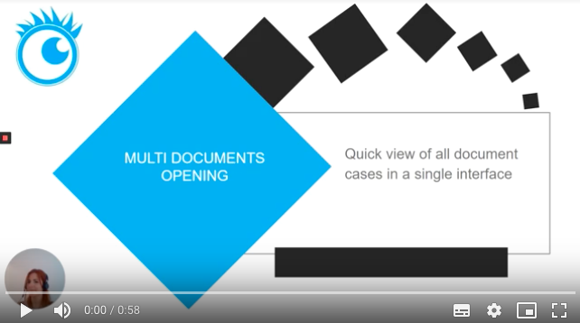 ROI video multi doc opening