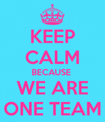 keep-calm-because-we-are-one-team-6