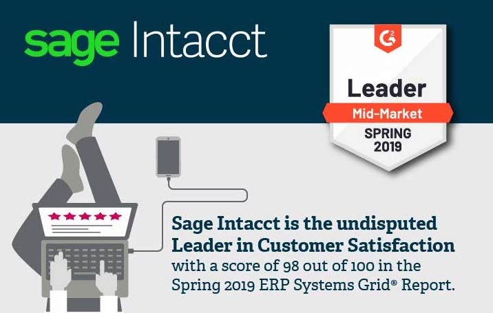 sage intacct - G2 awards