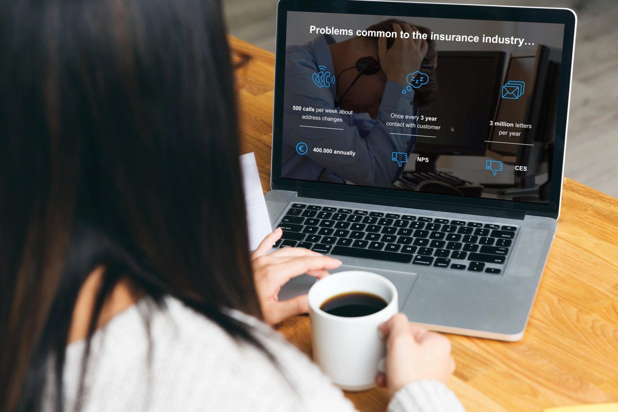 CIAM insurance webinar mockup
