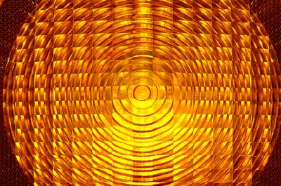 Imagen abstracta del foco de una carretilla elevadora