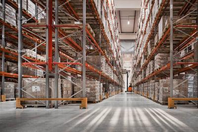 almacén con innovaciones logísticas de futuro