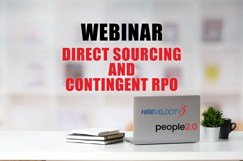 Hire Velocity to Co-Sponsor Webinar Discussing Contingent RPO, Direct Sourcing and the Next Era of Staffing