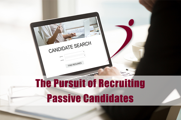 The Pursuit of Passive Candidates Infographic