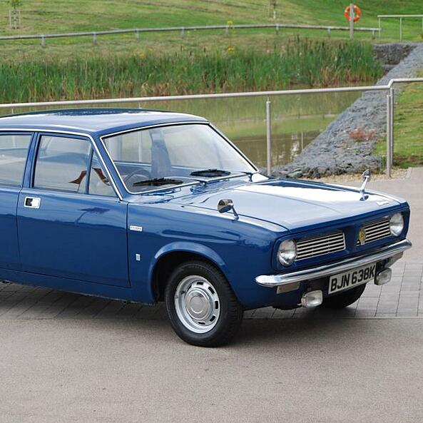 1971 Morris Marina donated to the Museum.