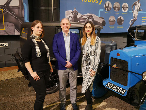 British Motor Museum makes three senior collections team appointments.