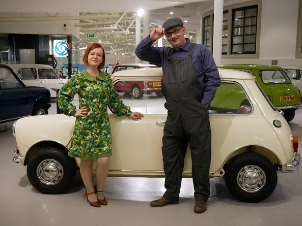 'Mini Madness' returns to the British Motor Museum this Easter!