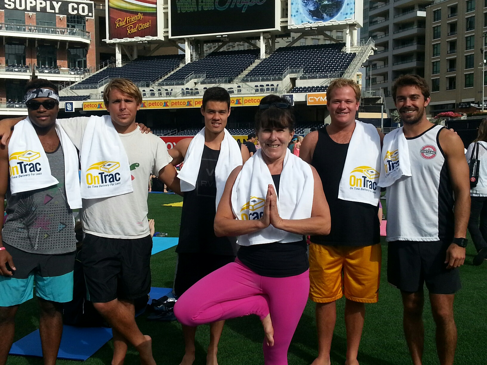 OnTrac supports City of Hope at Fourth Annual Yoga for Hope