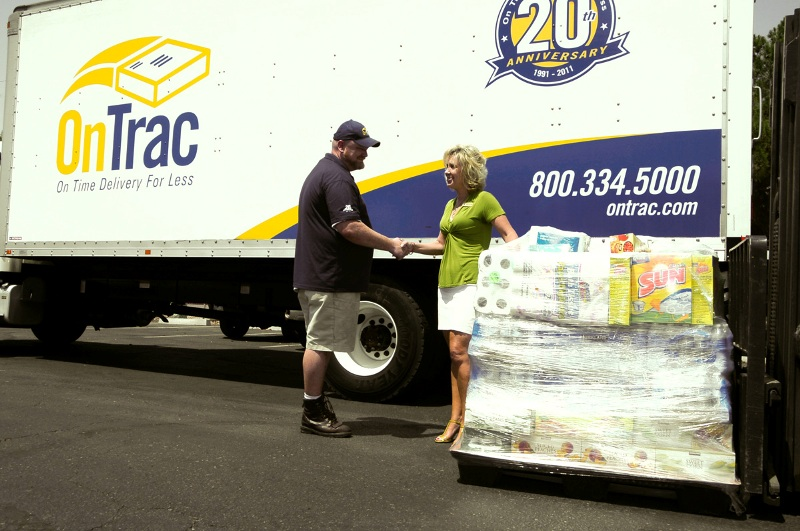 OnTrac donates to United Food Bank