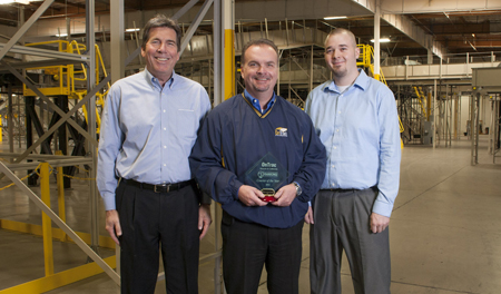 OnTrac Receives 2011 Courier of the Year