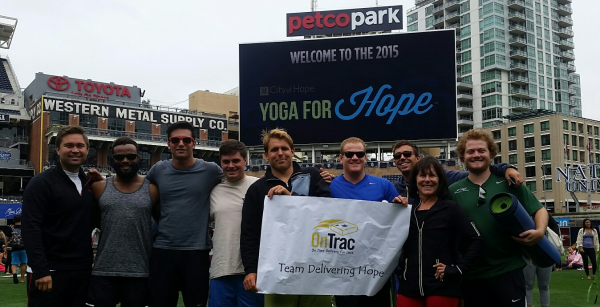 OnTrac Yoga for Hope 2015