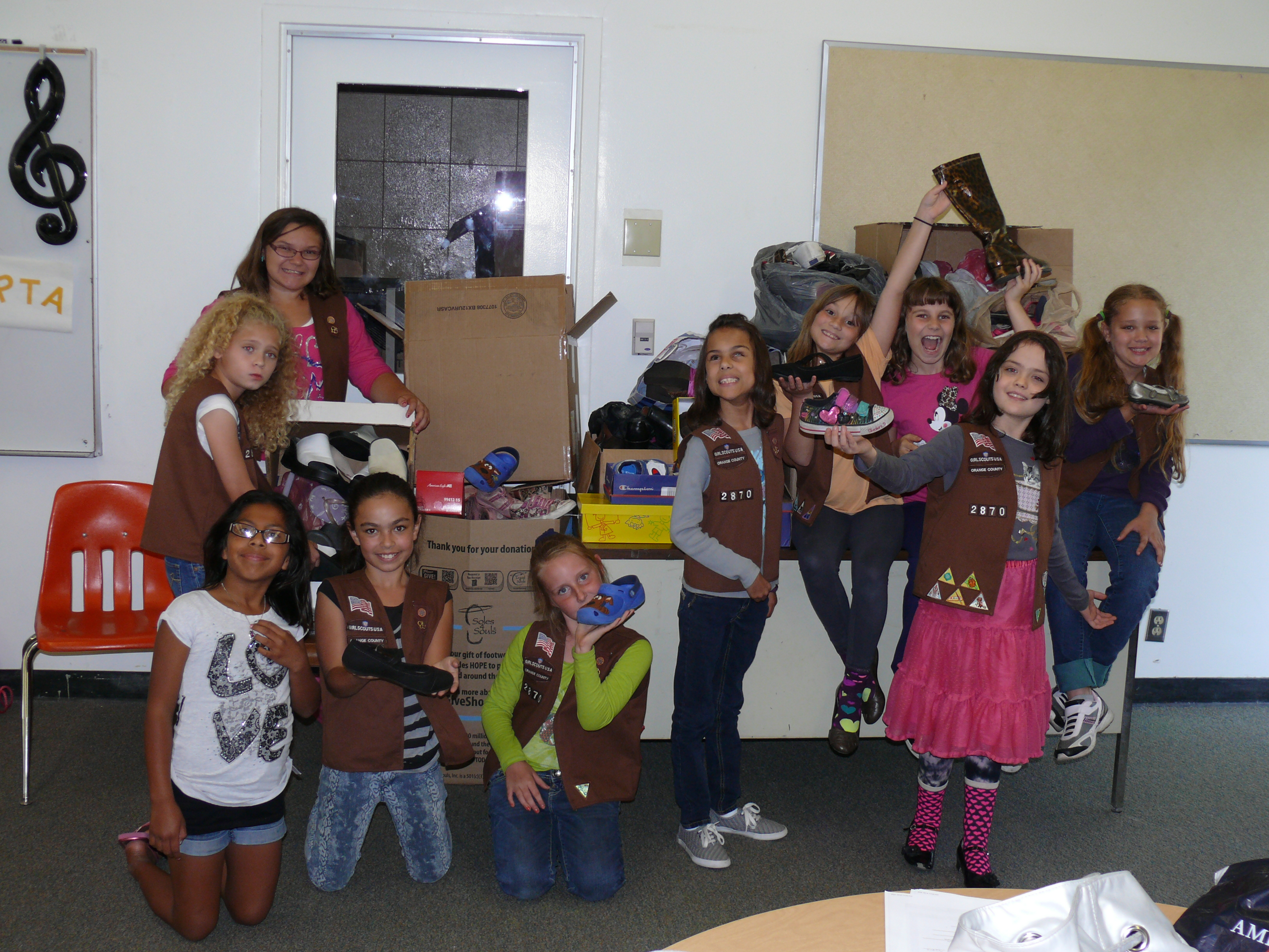 Girl Scouts - Soles 4 Souls