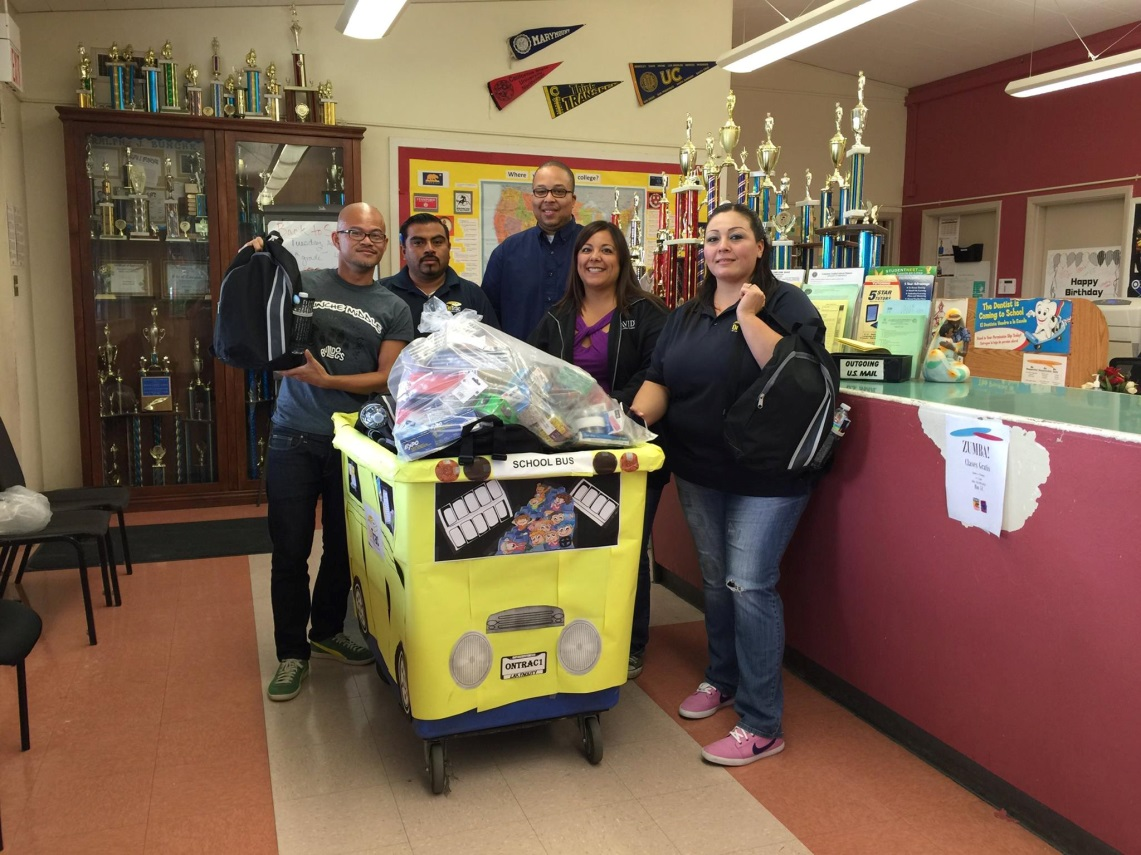 OnTrac Delivering Hope to Local Schools