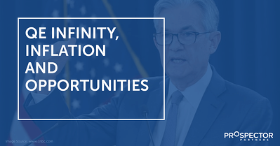 QE Infinity, Inflation and Opportunities