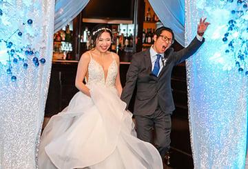 Grand Entrance - Eagle Ridge - Santa Clara Valley - Wedgewood Weddings