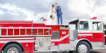 First Responder Thank you - Wedgewood Weddings