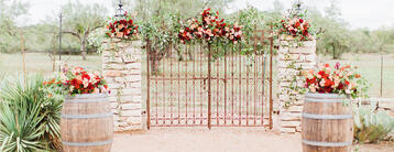 Hofmann Ranch by Wedgewood Weddings- Garden Outlook