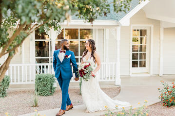 Bride and Groom - Lindsay Grove - Mesa, Arizona - Wedgewood Weddings