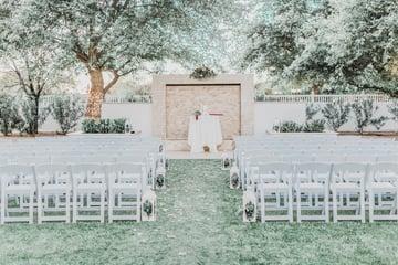Ceremony Aisle - Lindsay Grove - Mesa, Arizona - Wedgewood Weddings
