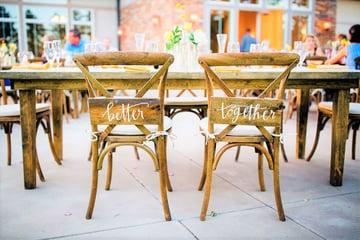 Wedding seating plans by Wedgewood Weddings