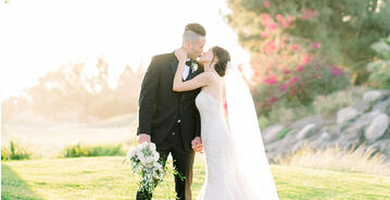 Bride and Groom - Rio Hondo - Downey, California - Los Angeles County - Wedgewood Weddings