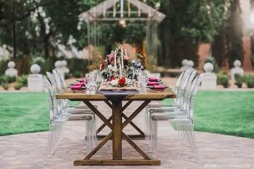 Wedding seating arrangements by Wedgewood Weddings