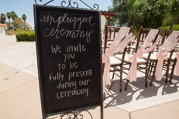 Unplugged Ceremony at Menifee Lakes by Wedgewood Weddings
