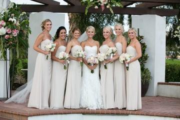 Bridesmaids - San Clemente - Orange County - Wedgewood Weddings