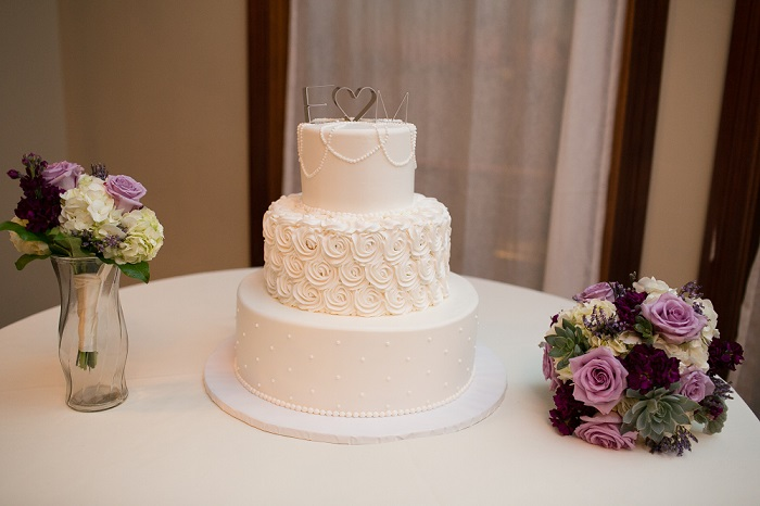 Classic Wedding Cake by Wedgewood Weddings