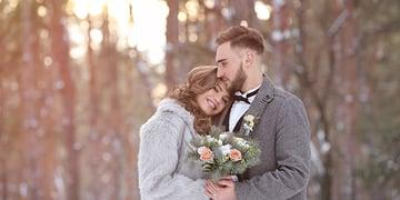 Holiday wedding at Wedgewood Weddings