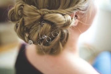 Bridal Hair Extensions at Wedgewood Weddings