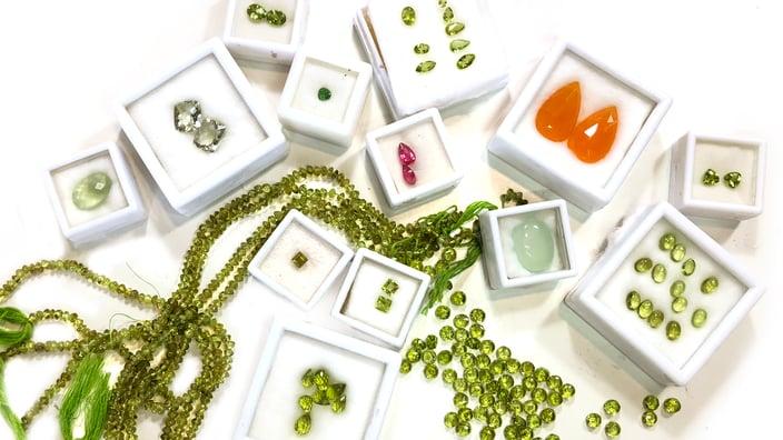 Loose Gemstones Peridot Katy Beh JEwelry New Orleans 4