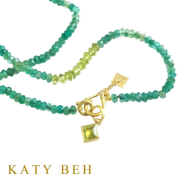 Nadia_Peridot_Pendant_Mercedes_Green_Onyx_Peridot_Necklace_22k_Gold_Katy_Beh_Jewelry_New_Orleans