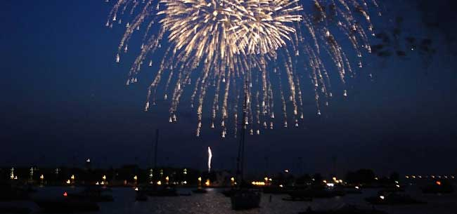 The Best Fireworks Displays in the Chesapeake Bay Area