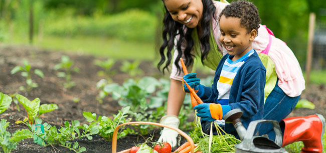 Keep Kids Active with these Easy Garden Ideas