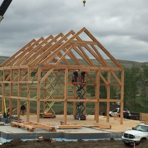 Gunnstock Timber Frames