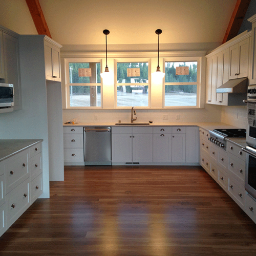Oregon Oak Flooring Projects
