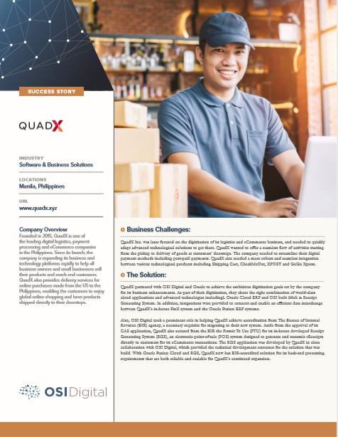 Success Story: QuadX