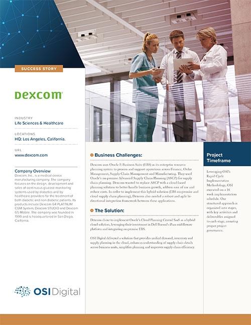 Success Story: Dexcom