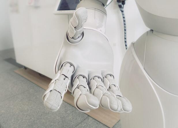 Artificial Intelligence Robot Hand
