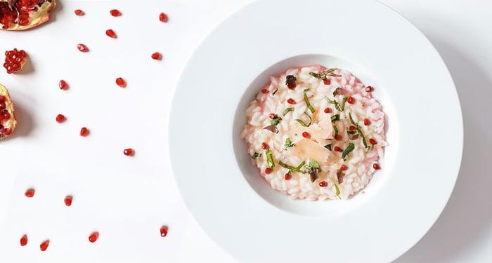 Ricetta-Risotto-Melagrana