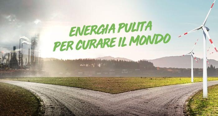 Energia pulita per curare il mondo