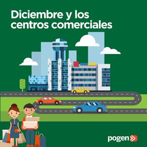 Diciembre y los centros comerciales
