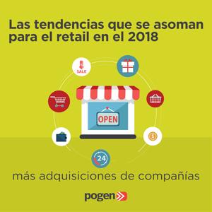 Las tendencias que se asoman para el retail en el 2018