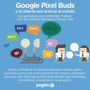 Google Pixel Buds y su intento por acercar al mundo