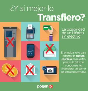 ¿Y si mejor te lo transfiero?: La posibilidad de un México sin efectivo
