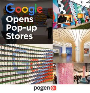 Google abrió tiendas propias