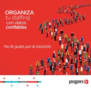 Organiza tu staffing con datos confiables, no te guíes por la intuición