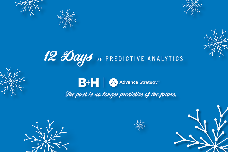 An Advance Strategy Holiday Card: 12 Days of Predictive Analytics