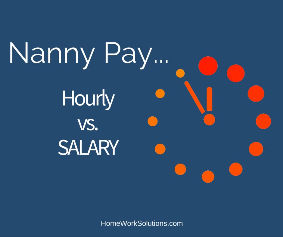 nanny pay calculator
